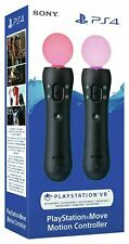 Playstation Motion Move Controllers for PS4 Twin Pack - Express Shipping - New