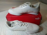 Puma Womens Summer Cat LDS Sport Spikeless Golf Shoes 190586-01 White on sale