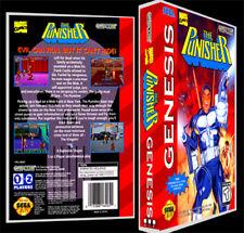 The Punisher - Sega Genesis Reproduction Art Case/Box No Game.