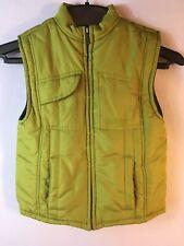 Kenneth Cole Reaction Vest Boys Size 6 Olive Green