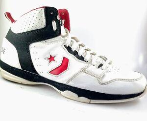 Converse Evo Basketball White HiTop shoes US 10.5, UK 9.5, EUR 44.5, 28.5 cm