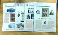 US 1974-79 USPS 4 Different Commemorative Panels Unopened Original Packaging |