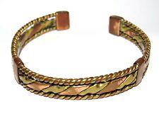 - Copper & Brass Vintage Torque Style Bracelet