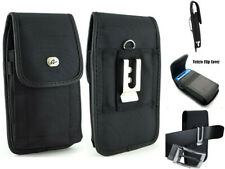 For iPhone 3G/3GS Nylon Vertical Canvas Belt Clip Pouch Sleeve Case REGULAR Size