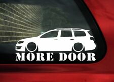 More Door sticker for vw Passat R36 /TDi B6 estate wagon