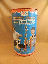 Vintage Fisher Price JUNIOR CIRCUS 902 replacement EMPTY canister