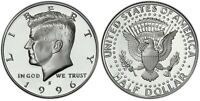 1996-S Silver Proof Kennedy Half Dollar - Deep Cameo Proof - Silver Proof Set!