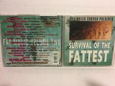 "Fat Wreck Chords Presents ""Survival of the Fattest Vol. 2"" CD Album punk rock"