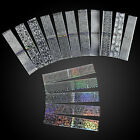 DIY 16Pcs/set Laser Holo Starry Sky Nail Foil Nail Art Transfer Sticker Manicure