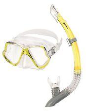 Mares Zephir Schnorchelset Gelb Tauchermaske + Schnorchel Urlaubsset