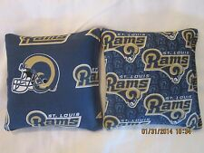 St. Louis Rams Cornhole Bags Corn hole Set of 8 - FREE SHIP! Our 11th Year!!