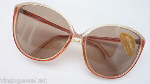 XXL Rodenstock Lady Line Sunglasses Ladies Glasses 70er Years Mint Size L