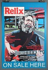 Grateful Dead's Jerry Garcia 1987 Highway Relix Poster