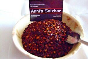 [ab 38,78 €/kg] Ancho Chili geschrotet von Annis-Salzbar