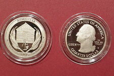 2015-S Proof Cameo Homestead National Monument of America Clad Quarter