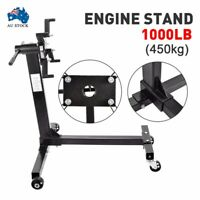 450kg 1000lb Engine Stand Cars Auto Motor Industrial Workshop Crane Hoist