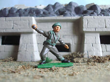 Vintage World war 2 Lone star/Harvey British Royal marine fig 2 1:32 painted