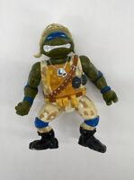 Teenage Mutant Ninja Turtles Action Figure Lieutenant Leo Original Vintage