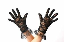 Gloves Lace Lace Gloves Women's Black Gothic Victorian Gloves