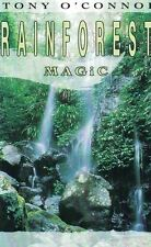 Rainforest Magic by Tony O'Connor Audio Cassette, 1991 Electronic New Age