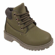 Leather Upper All Seasons Boots Laces Shoes for Girls
