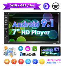 "7"" BLUETOOTH AUTORADIO 2DIN Android 9.1 Navigazione GPS NAVI WIFI MP5 1 GB+16 GB"
