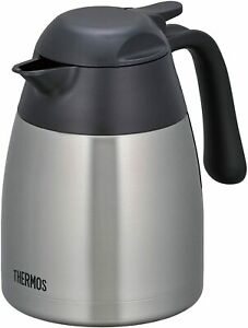 THERMOS THX-700SBK BPTG401 Stainless Steel Tabletop Vacuum Insulated Pot 700ml