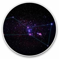 2 x Vinyl Stickers 7.5cm - Orion Star Constellation Solar System Cool Gift #8749