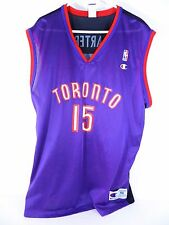 VTG EUC Vince Carter #15 Toronto Raptors 90's Champion Jersey Size 48 - XL
