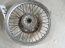 yamaha wr200 rear back rim wheel hub assembly complete spokes 1992 92