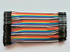 40x Cables Dupont 10cm Femelle/Femelle pour BreadBoard Arduino, Raspberry Pi