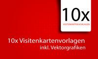 10x Visitenkarten Templates Vorlagen Visitenkarte Layout inkl. PSD Files