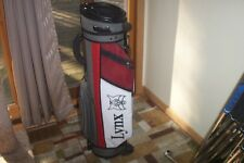 BRAND NEW Lynx stand bag  grey/red/white