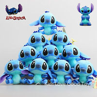 10pcs Lilo and Stitch Plush Toy Hanging Key Chain Hanger Doll Mini Pendant