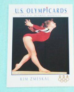 KIM ZMESKAL 1992 IMPEL U.S. OLYMPIC HOPEFULS #50 GYMNASTICS