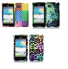 Design Faceplate Hard Cover Case for LG Optimus F3 LS720 VM720 Phone