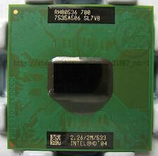 Intel Pentium M 780 Processor 2.26 2.26ghz 2M FSB 533 MHz SL7VB  chipset