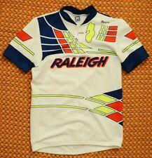 Raleigh, Vintage Cycling Shirt by Santini, Mens Large - Xl