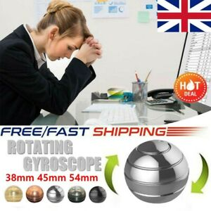 38mm GADGET Mezmoglobe Optical Illusion Kinetic Desk Toy Kid Adult Stress Relief