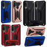 For Huawei P30 P Smart Y6 2018/19 Y7 2019 Heavy Duty Hard Kickstand Case Cover