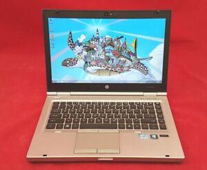 HP ELITEBOOK 8460p INTEL CORE I5 @ 2.6GHz 4GB 320GB HDD DVDRW WEBCAM WIN7 PRO