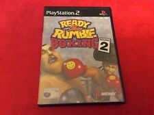 READY TO RUMBLE BOXING 2 - prima stampa 2000 - PS2 Pal - COMPLETO