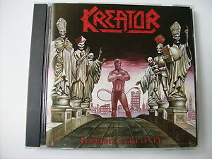 KREATOR - TERRIBLE CERTAINTY - CD LIKE NEW CONDITION 2000