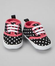 Luvable Friends - Baby Girl's Classic Canvas Sneakers (6 to 12 months)