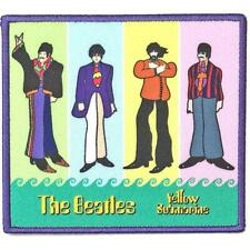 More details for official licensed - the beatles - yellow submarine band in stripes sew on patch