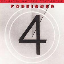 FOREIGNER - 4 - HYBRID SACD - CD - BRAND NEW AND FACTORY SEALED - MOFI