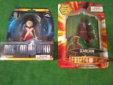 Underground Toys Doctor Who Peg Soldier & Scarecrow (Blue Scarf) Figures (New)