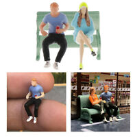 RM 1:64 Resin Tiny Figures Dolls Micro Landscape Layout Decorative Scale S