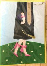 Papyrus Daughter Graduation Card - Daughter in Graduation Gown w/Pink Heels