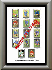 CHELSEA - 1974-75 - REPRO STICKERS A3 POSTER PRINT